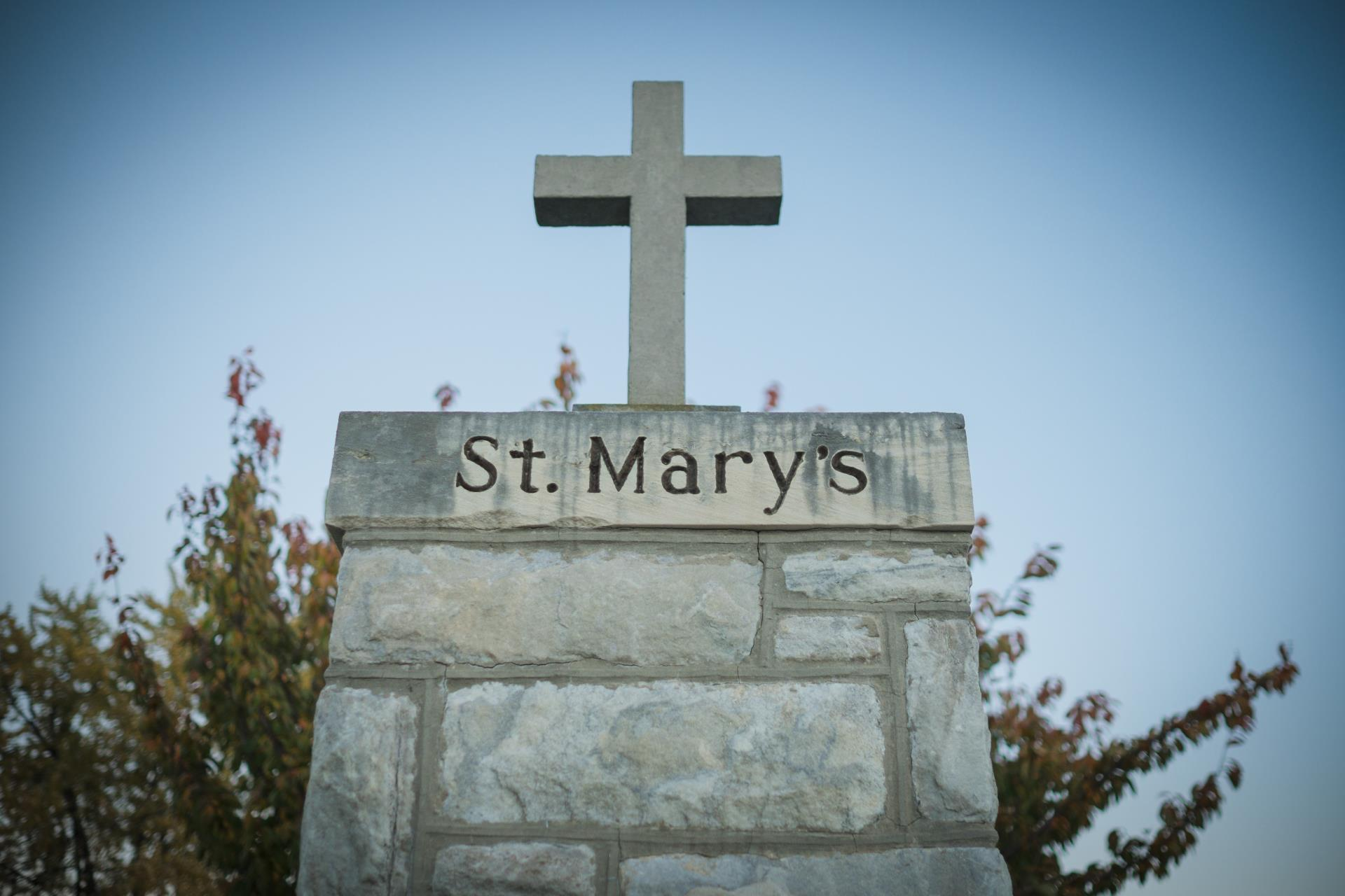 Entrance to St Marys Cemetery